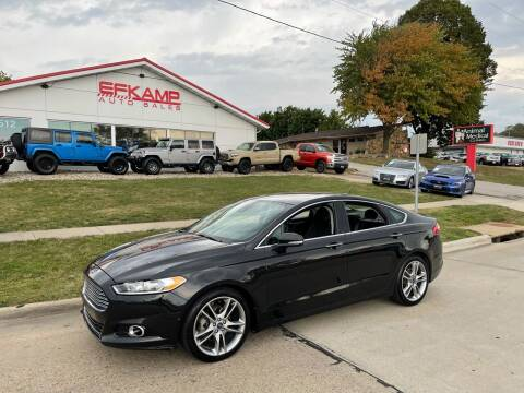 2013 Ford Fusion for sale at Efkamp Auto Sales LLC in Des Moines IA
