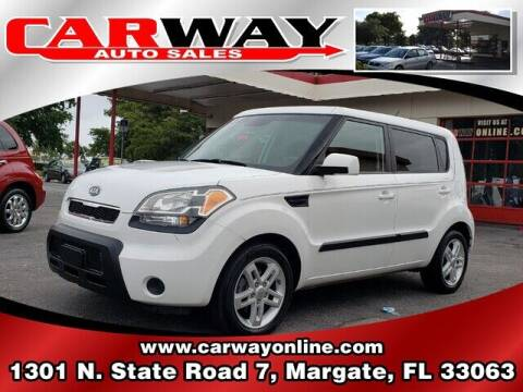 2011 Kia Soul for sale at CARWAY Auto Sales in Margate FL