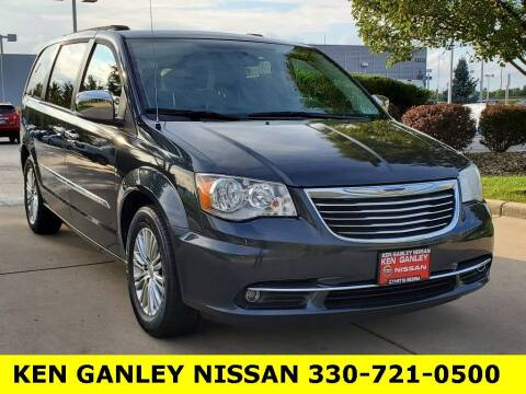 2013 Chrysler Town and Country for sale at Ken Ganley Nissan in Medina OH