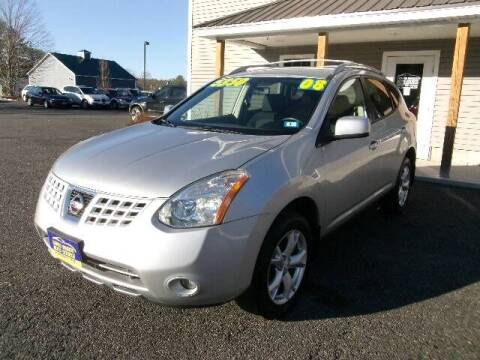 2008 Nissan Rogue for sale at Lakes Region Auto Source LLC in New Durham NH