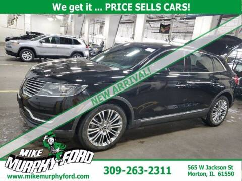 2017 Lincoln MKX for sale at Mike Murphy Ford in Morton IL