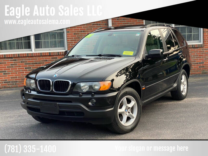 2001 BMW X5 for sale at Eagle Auto Sales LLC in Holbrook MA