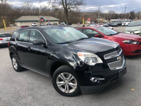 2012 Chevrolet Equinox for sale at Noble PreOwned Auto Sales in Martinsburg WV