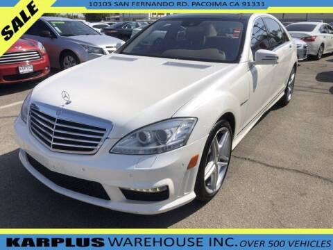 2013 Mercedes-Benz S-Class for sale at Karplus Warehouse in Pacoima CA