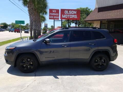 2015 Jeep Cherokee for sale at Olson Motors LLC in Saint Augustine FL
