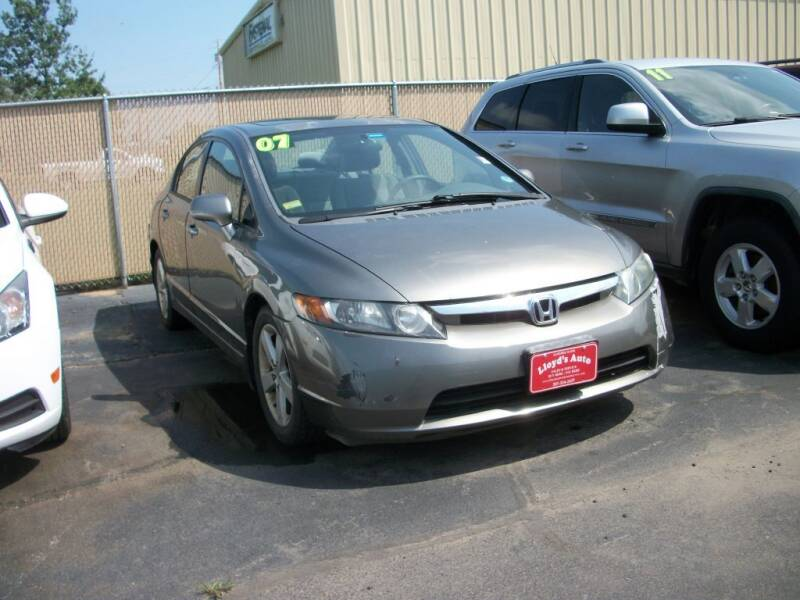 2007 Honda Civic for sale at Lloyds Auto Sales & SVC in Sanford ME