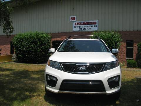 2012 Kia Sorento for sale at Unlimited Auto Sales & Detailing, LLC in Windsor Locks CT