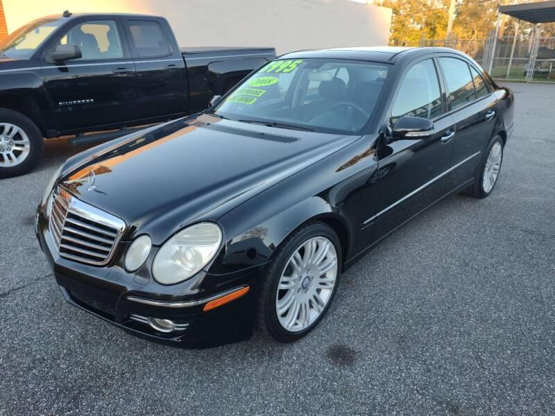 2008 Mercedes-Benz E-Class for sale at DON BAILEY AUTO SALES in Phenix City AL