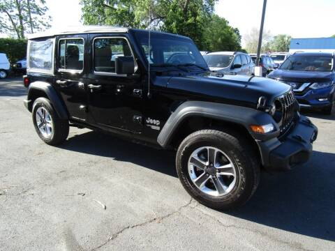 2018 Jeep Wrangler Unlimited for sale at 2010 Auto Sales in Troy NY