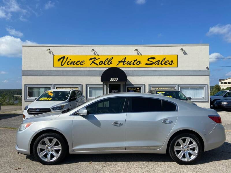 2010 Buick LaCrosse for sale at Vince Kolb Auto Sales in Lake Ozark MO