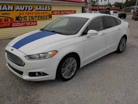 2013 Ford Fusion for sale at SEBASTIAN AUTO SALES INC. in Terre Haute IN