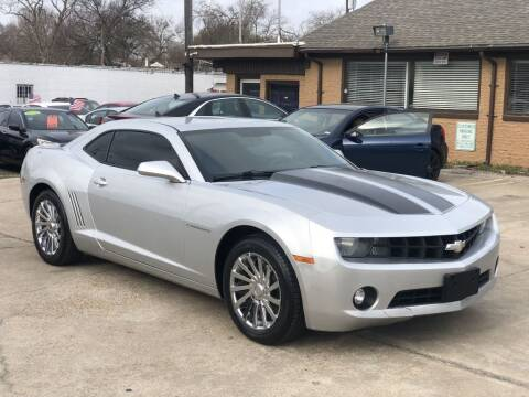 2012 Chevrolet Camaro for sale at Safeen Motors in Garland TX