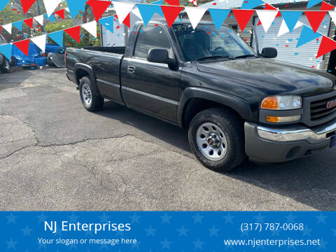 2007 GMC Sierra 1500 Classic for sale at NJ Enterprises in Indianapolis IN