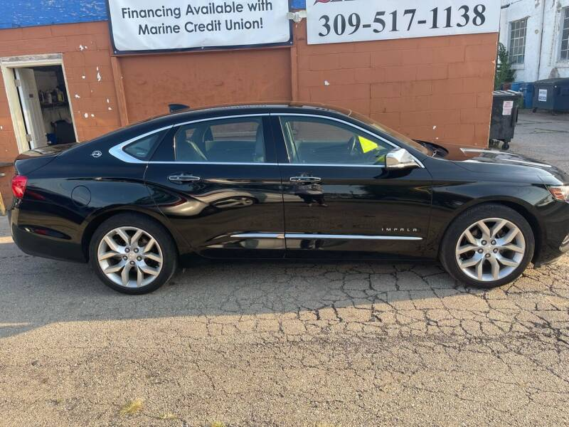 2017 Chevrolet Impala for sale at Ali Auto Sales in Moline IL