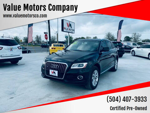 2015 Audi Q5 for sale at Value Motors Company in Marrero LA