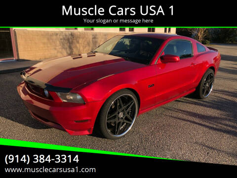 2011 Ford Mustang for sale at Muscle Cars USA 1 in Murrells Inlet SC