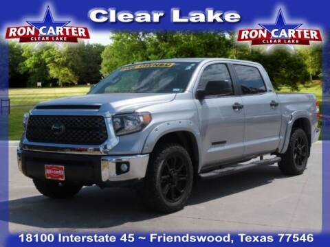 2018 Toyota Tundra for sale at Ron Carter  Clear Lake Used Cars in Houston TX