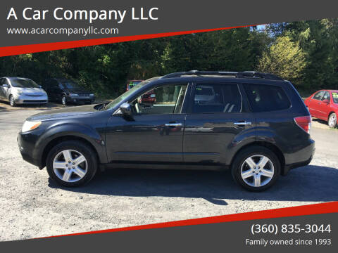 2010 Subaru Forester for sale at A Car Company LLC in Washougal WA