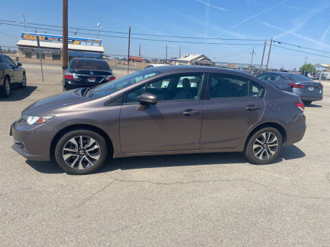 2015 Honda Civic for sale at First Choice Auto Sales in Bakersfield CA