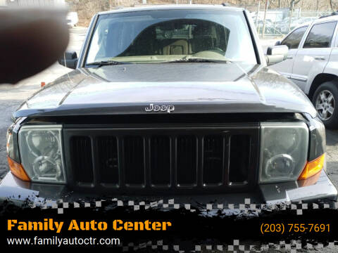 2006 Jeep Commander for sale at Family Auto Center in Waterbury CT