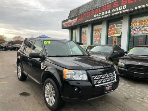 2008 Land Rover LR2 for sale at Washington Auto Group in Waukegan IL