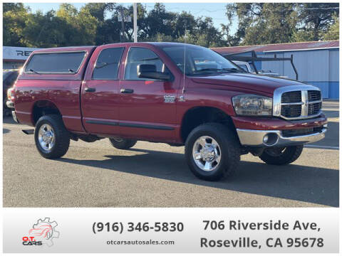 2007 Dodge Ram Pickup 2500 for sale at OT CARS AUTO SALES in Roseville CA