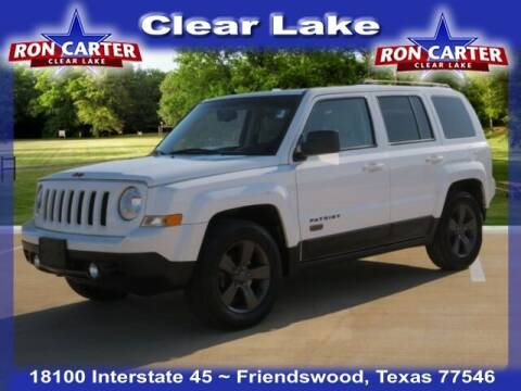 2017 Jeep Patriot for sale at Ron Carter  Clear Lake Used Cars in Houston TX
