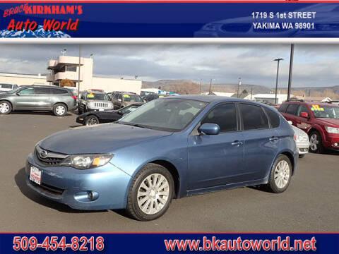 2010 Subaru Impreza for sale at Bruce Kirkham Auto World in Yakima WA