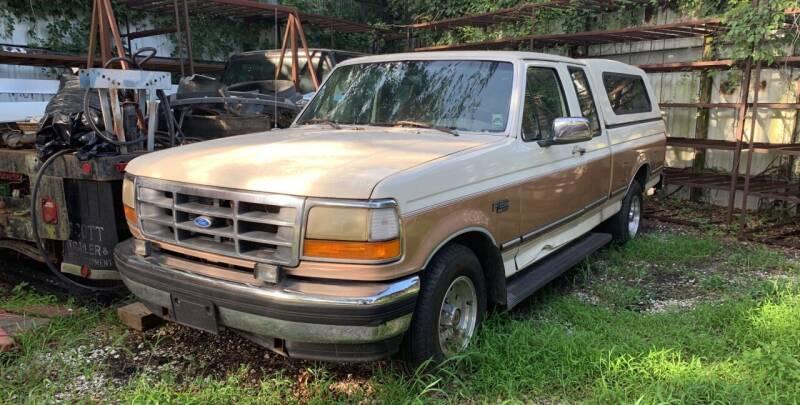 1995 Ford F-150 for sale at Crescent Collision Inc. in Jefferson LA