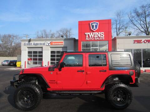 2017 Jeep Wrangler Unlimited for sale at Twins Auto Sales Inc in Detroit MI