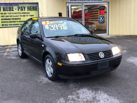 2002 Volkswagen Jetta for sale at Mr. G's Auto Sales in Shelbyville TN