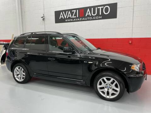2006 BMW X3 for sale at AVAZI AUTO GROUP LLC in Gaithersburg MD