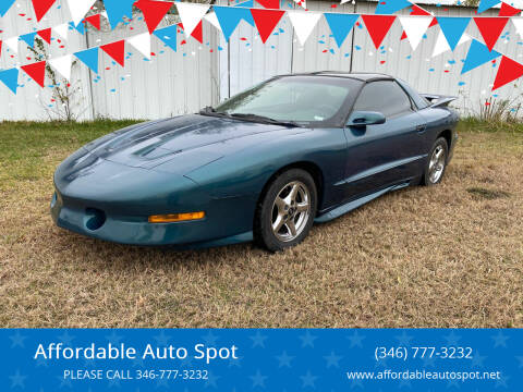 1995 Pontiac Firebird for sale at Affordable Auto Spot in Houston TX