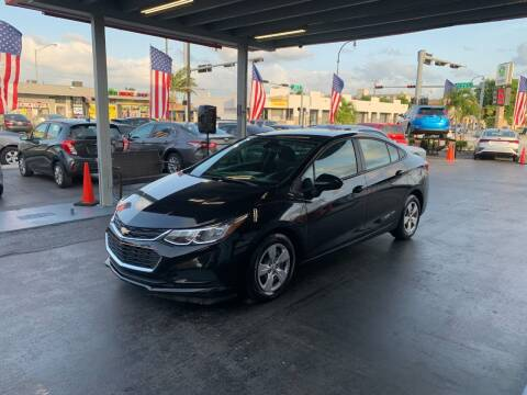 2018 Chevrolet Cruze for sale at American Auto Sales in Hialeah FL