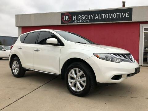 2014 Nissan Murano for sale at Hirschy Automotive in Fort Wayne IN