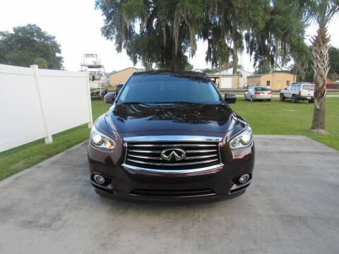 2013 Infiniti JX35 for sale at D & R Auto Brokers in Ridgeland SC