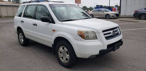 2007 Honda Pilot for sale at speedy auto sales in Indianapolis IN