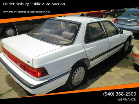 1989 Acura Legend for sale at FPAA in Fredericksburg VA