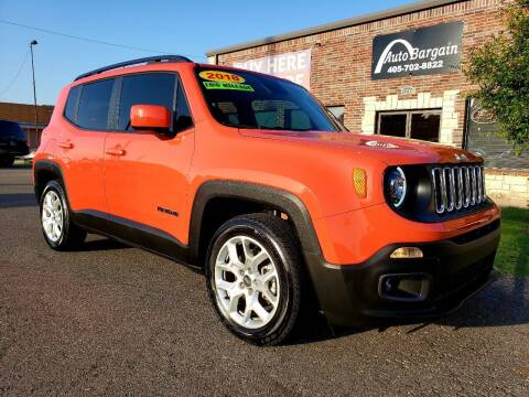 2018 Jeep Renegade for sale at AUTO BARGAIN, INC. #2 in Oklahoma City OK