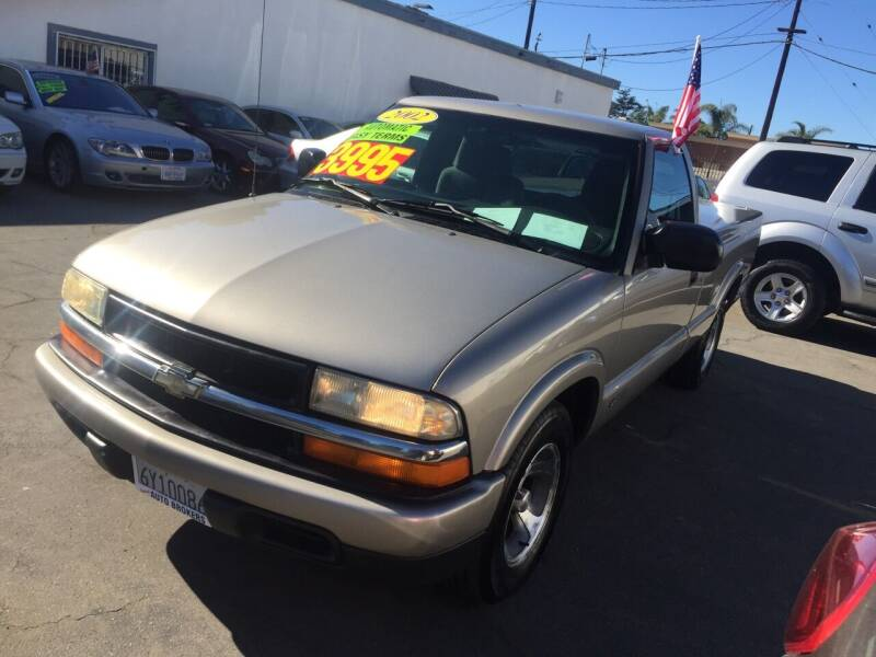 2002 Chevrolet S-10 for sale at Oxnard Auto Brokers in Oxnard CA