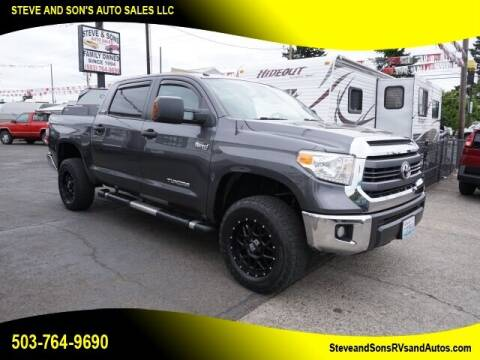 2015 Toyota Tundra for sale at Steve & Sons Auto Sales in Happy Valley OR