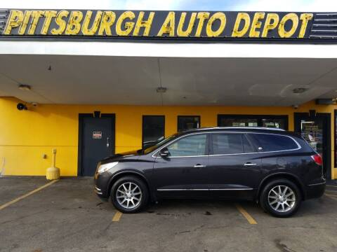 2015 Buick Enclave for sale at Pittsburgh Auto Depot in Pittsburgh PA