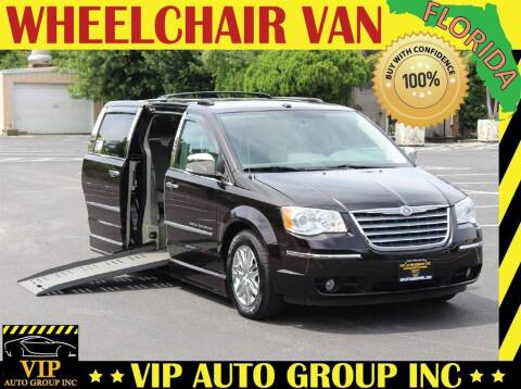 2010 Chrysler Town and Country for sale at VIP Auto Group in Clearwater FL