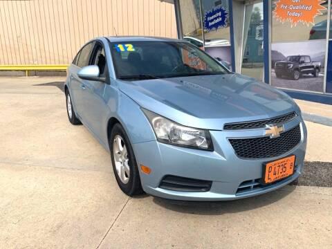 2012 Chevrolet Cruze for sale at Carsko Auto Sales in Bartonville IL
