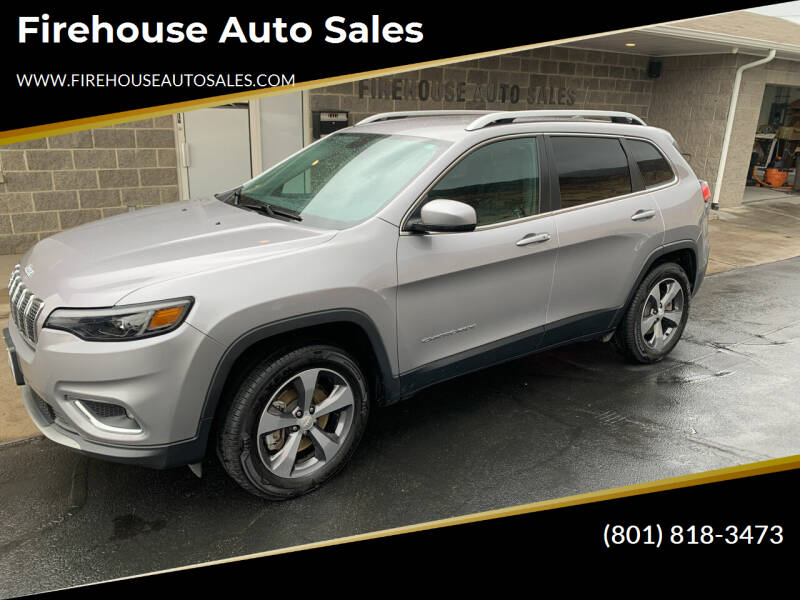 2019 Jeep Cherokee for sale at Firehouse Auto Sales in Springville UT