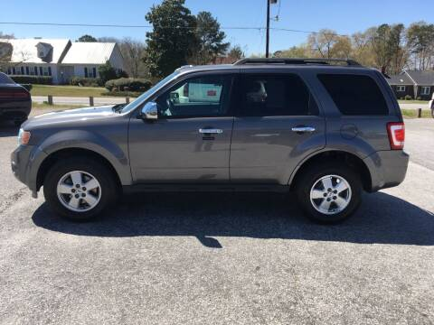 2012 Ford Escape for sale at TAVERN MOTORS in Laurens SC