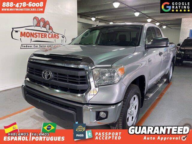 2014 Toyota Tundra for sale at Monster Cars in Pompano Beach FL