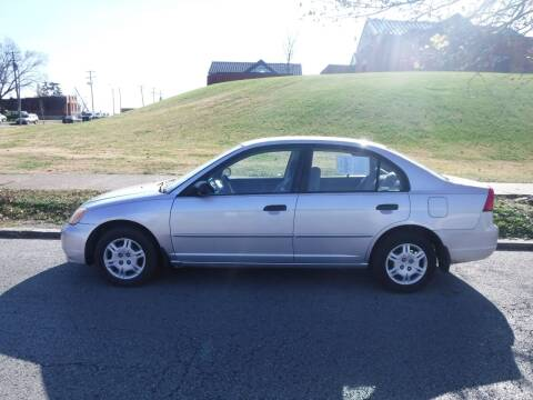2001 Honda Civic for sale at ALL Auto Sales Inc in Saint Louis MO