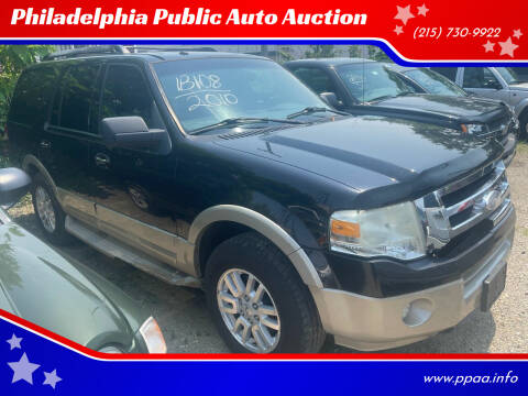 2010 Ford Expedition for sale at Philadelphia Public Auto Auction in Philadelphia PA