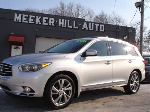 2013 Infiniti JX35 for sale at Meeker Hill Auto Sales in Germantown WI